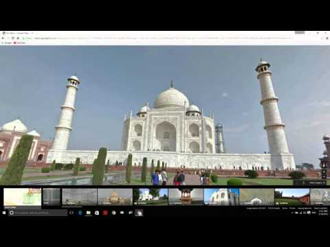 Google 3D Map - How To Enable 3D Street View In Google Map [Hindi / Urdu]