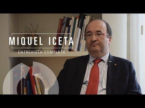 Entrevista completa a Miquel Iceta, candidato a la presidencia de la Generalitat de Catalunya el 21D