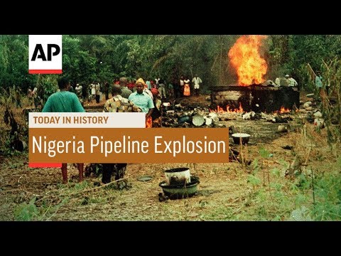 Nigeria Pipeline Explosion - 1998   Today In History   18 Oct 17