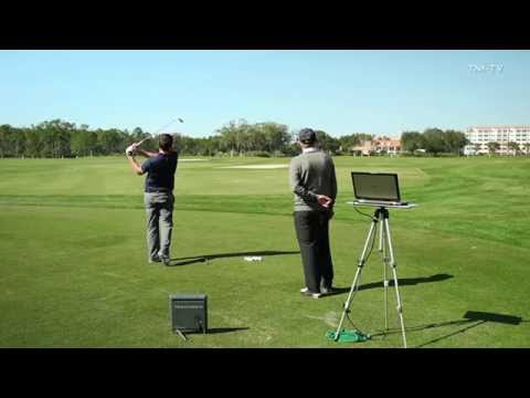 Learn how to hit a low spinning wedge shot with Chuck Cook