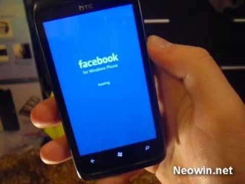 Windows Phone 7 Facebook Integration