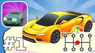 Gear Race 3D - Overtake everyone! Gameplay Walkthrough Android iOS Part 1