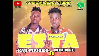 Gambar cover KAJI MRISHO & MBUNGE WA MASELA _ESTA  (MBASHA STUDIO)