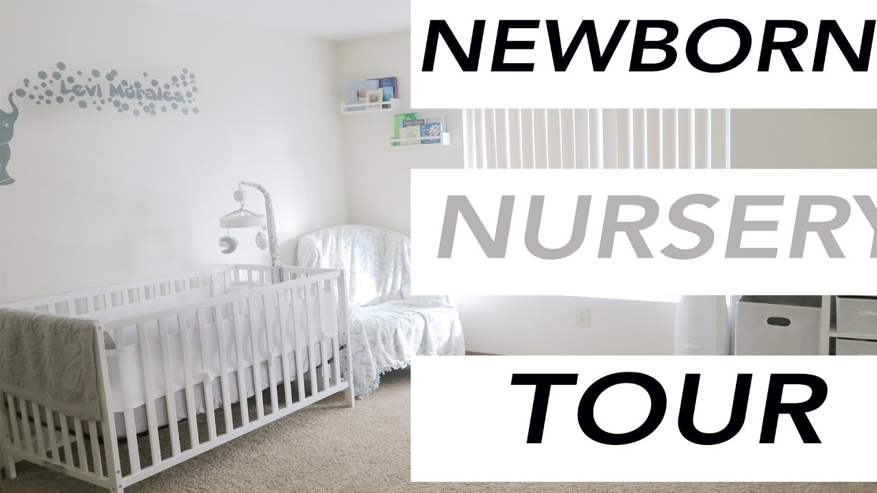 Baby Room Decoration Ideas   Newborn Nursery Decorating Tutorial