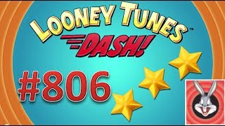 Looney Tunes Dash! level 806 - 3 stars - looney card