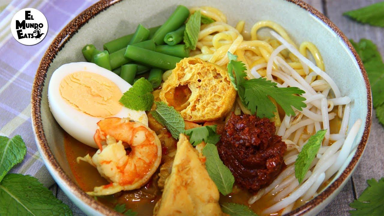 How to Make Malaysian Curry Laksa - YouTube
