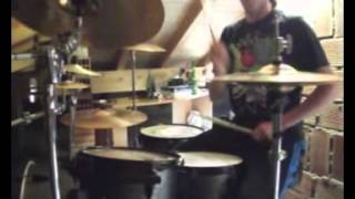 "David Guetta - ""Where Them Girl At"" Drum Cover by Dambro"