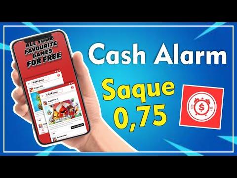 CASH ALARM - SAQUE DE R$ 0,75   2020✔️