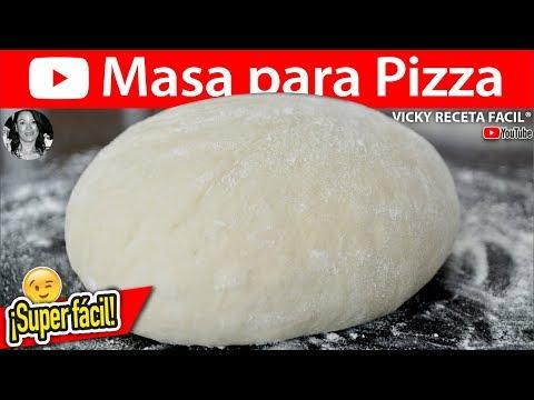 MASA PARA PIZZA | Vicky Receta Facil