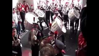 Skull Session TBDBITL entrance into St. John Arena Ohio State University Marching Band thumbnail