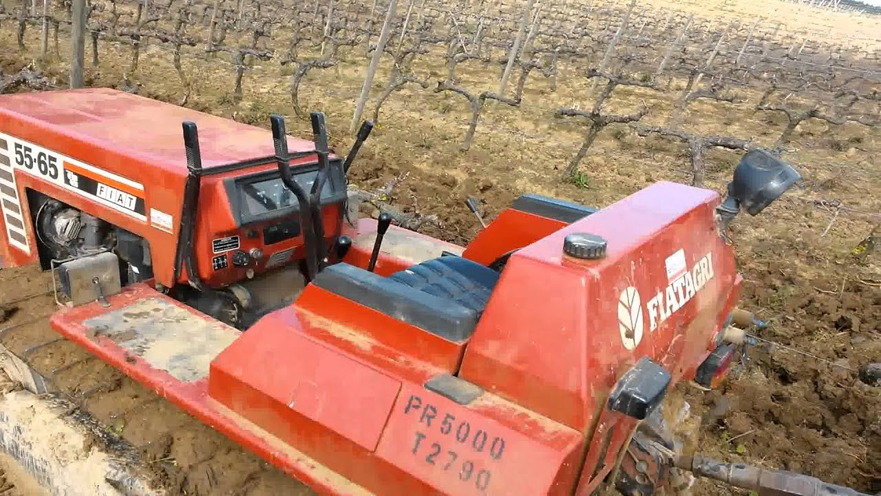tractor fiat 55 65 trabalhar sozinho youtube