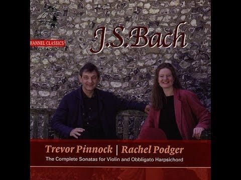 Bach, Sonata 4 For Violin And Harpsichord In C, Bwv 1017