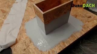 DuroDACH - obróbka elementów prostokątnych