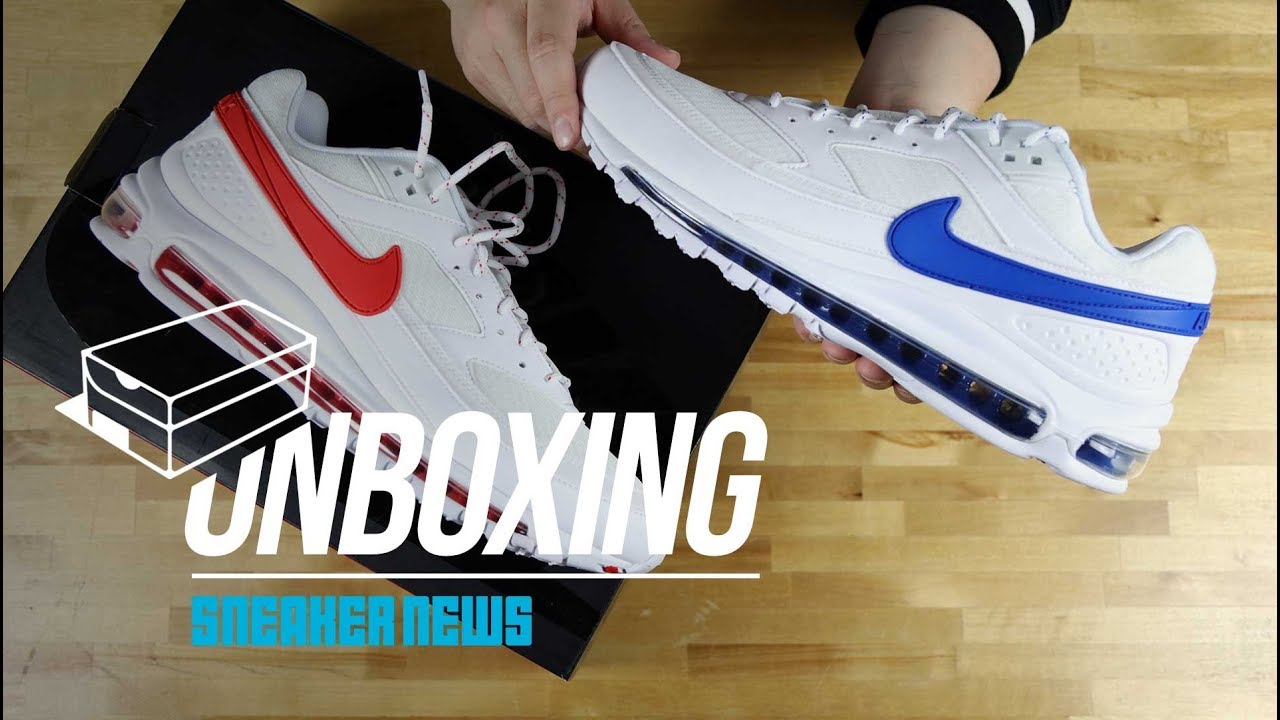 a96bab09cb Unboxing The Skepta Nike Air Max 97/BW - YouTube