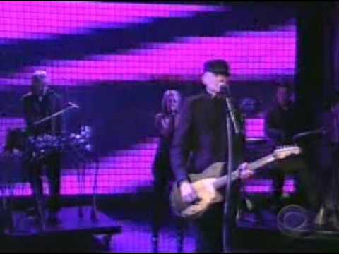 Billy Corgan -  Mina Loy (M. O. H)  Letterman Live
