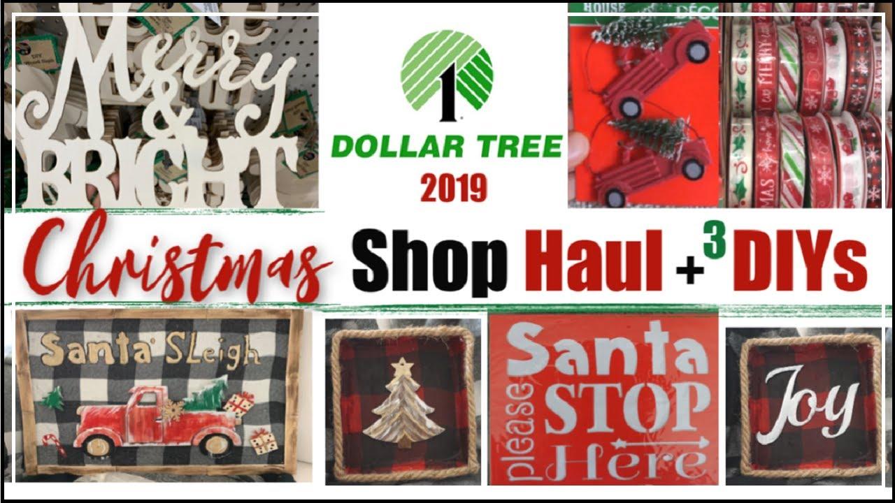 Dollar Tree Christmas Haul September 2020 DOLLAR TREE CHRISTMAS 2019 | Dollar Tree Christmas DIY Decor +