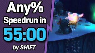 SpongeBob SquarePants: Battle for Bikini Bottom Any% Speedrun in 55:00 (WR on 9/20/2018)