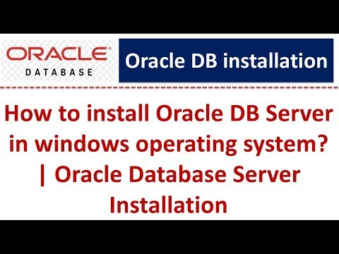 how-to-install-oracle-db-server-in-windows-operating-system?-|-oracle-database-server-installation
