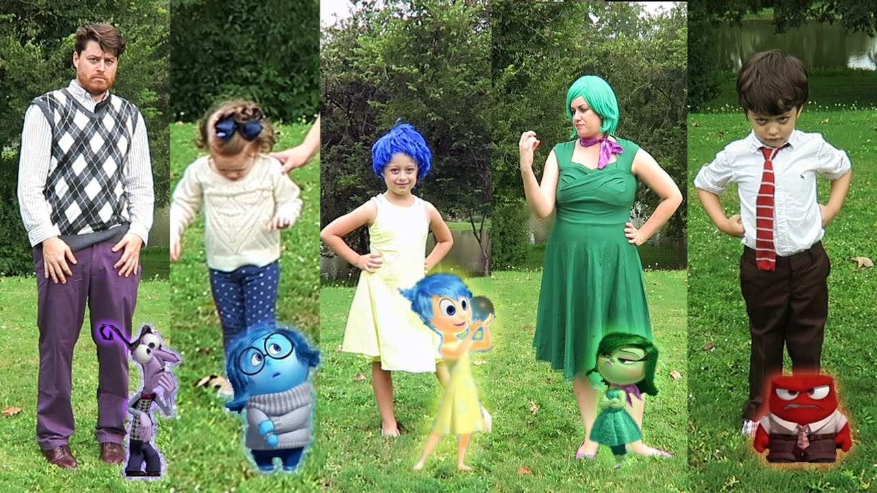Diy inside out family halloween costumes and disneybounding disney diy inside out family halloween costumes and disneybounding disney pixar youtube solutioingenieria Images