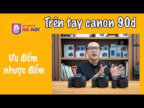 Canon 90d ✅ Trên tay nhanh máy ảnh crop siêu ngon - Máy ảnh cũ Hà Nội