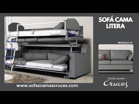 Sof cama litera youtube - Sofa cama cruces ...