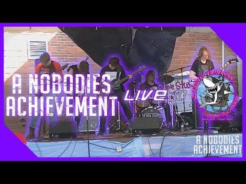 A Nobodies Achievement Live @ Alternative Waves