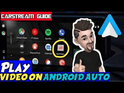 How To Play Video On Android Auto||Complete Guide