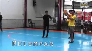 Teknik Dasar Kiper Futsal   Cara Melempar Bola Dan Passing