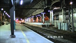 My 24 Hours at Preston station on March 6 to March 7, Part 1.
