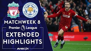 Liverpool v. Leicester City | PREMIER LEAGUE HIGHLIGHTS | 10/5/19 | NBC Sports