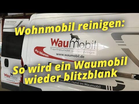 Wohnmobile blitzblank: So reinigt Waumobil die Fahrzeuge