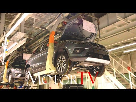 CAR FACTORY : 2017 SEAT ARONA & SEAT IBIZA PRODUCTION (NO MUSIC) l Martorell Plant (ES)