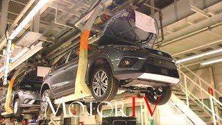 CAR FACTORY : 2017 SEAT ARONA & SEAT IBIZA PRODUCTION (NO MUSIC) l Martorell Plant (ES)