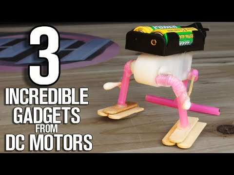 3 Incredible Gadgets From DC Motor - DC Motor Life Hacks