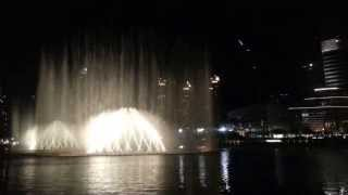 Dubai Burj Khalifa Fountain crazy, amazing and magic moment on a Japanese song HD