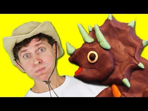 Dinosaur Walk with Matt Kids Song | LEARN DINOSAURS | Learn English Kids