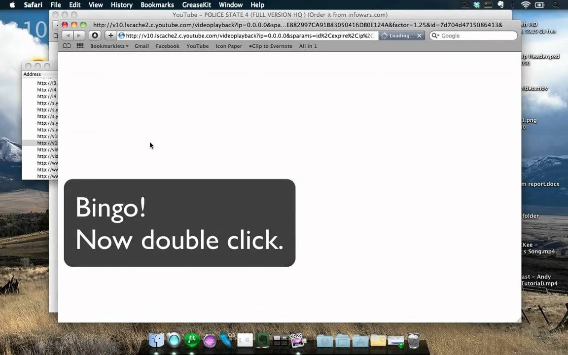 Download Youtube Videos With Safari