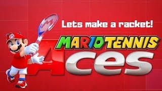 [Mario Mondays] Mario Tennis Aces   Making some RACKET!
