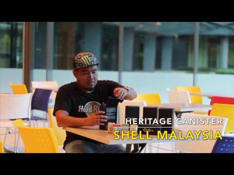 Shell Malaysia Heritage Canister 125th Anniversary