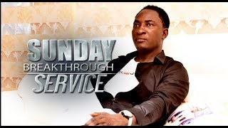 SUNDAY BREAKTHROUGH SERVICE (22ND SEPT. 2019) LIVE WITH SNR. PROPHET JEREMIAH OMOTO FUFEYIN.