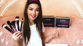 ВСЯ КОСМЕТИКА NYX! UNBOXING! NYX FACE AWARDS 2017!| Яна Русая