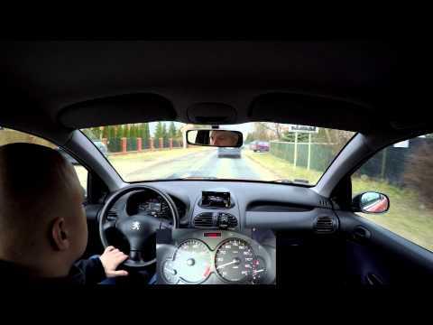 03-03-2015 Driving Peugeot 206 In 4K