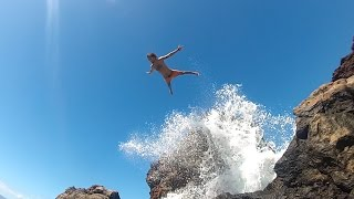 Cliff Jumping at Black Rock, Maui | Fan Meet Up!