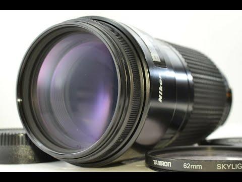 Recommended film camera collection Nikon AF Nikkor 70-210mm f/4 Zoom Lens w/ Filter Japan