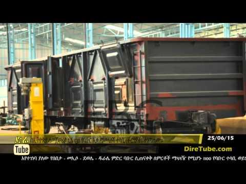 130 railway wagons assembled in Ethiopia
