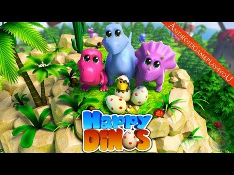Happy Dinos Android HD GamePlay [Game For Kids]