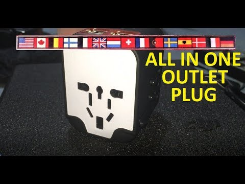 Worldwide Travel Charger 4 USB Ports Power Converters for EU UK USA AU Europe Asia