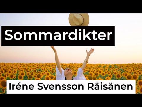 SOMMARDIKTER diktvideo av poeten Iréne Svensson Räisänen
