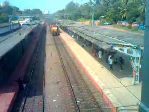 Escaping engines via Tiruvalla railway station