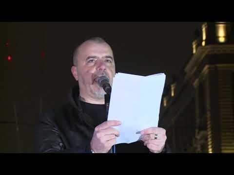 Nikola Kojo govor protest Beograd